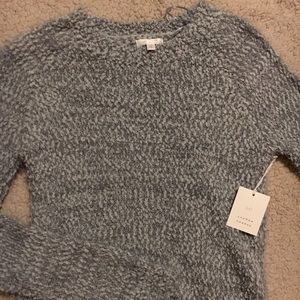 Cute, grey, (super stretchy) Lauren Conrad top
